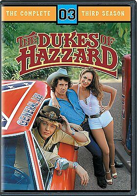 Dukes of Hazzard The Complete Season 3 Third 3rd Movies 4 DISC DVD - NEW SEALED