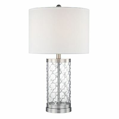 Candace & Basil 24'' Metal Table Lamp