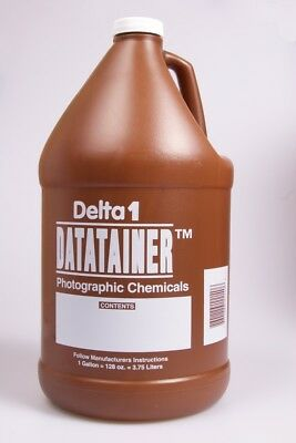Delta1 Datatainer Photographic Chemicals Bottle 1 Gallon (128 oz)