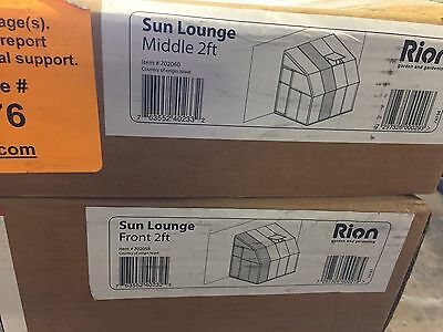 Palram Rion Sun Lounge and Greenhouse  - 6ft x 8ft (HG7408)