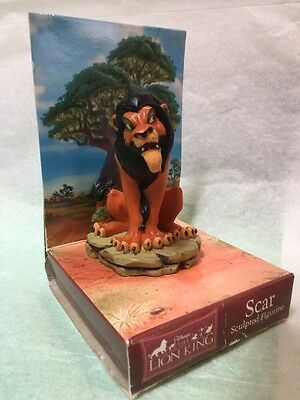 Disney The Lion King Scar Sculpted Figurine Enesco