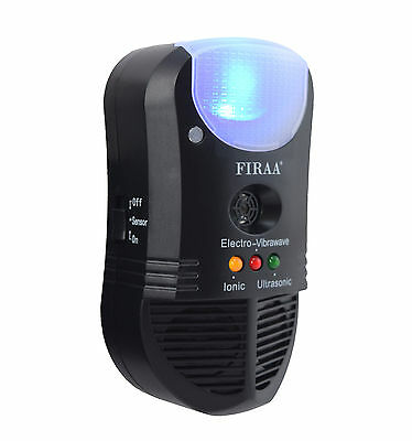 FIRAA 4 in 1 Ultrasonic Pest Repeller Mouse Rat Trap Mosquito Insect Ant Plug In