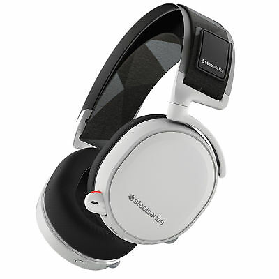 Steelseries Arctis 7 DTS Headphone White Wireless USB & Wired Headsets Earphone