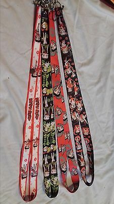 betty boop 4 lanyard lot *new without tags