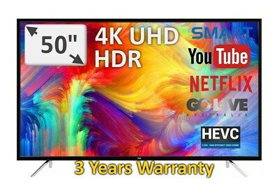 "Stunning New 50"" TCL 4K HDR See it to believe it Model: 50E70US 3 Years Warranty"