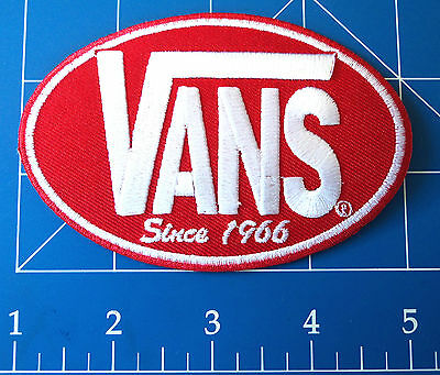 Vans Oval Patch Red, Dress Up Yo Raggedy Ass!
