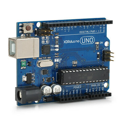 UNO R3 Development Board Microcontroller MEGA328P ATMEGA16U2 Compat for Arduino