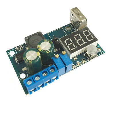 DC/DC CV CC 3A LED Driver Power Module  Step-Down Constant Current Blue