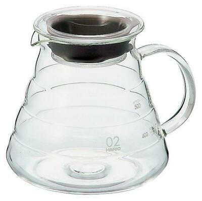 Hario V60 Glass Range Coffee Server 600mL Clear Free Shipping!