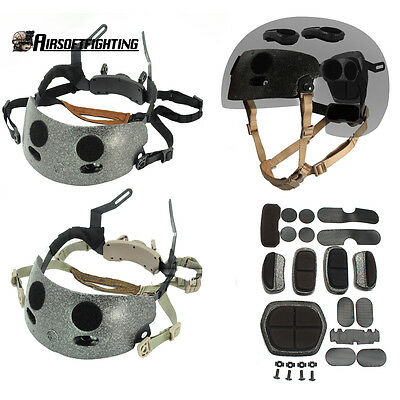Tactical ACH Occ-Dial Liner Kit Ops-Core Style Helmet Suspension Retention Syste