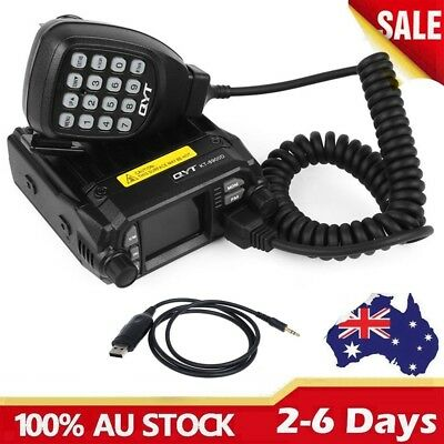 QYT KT-8900D Dual Band VHF UHF Color Screen Quad-Standy Mobile Radio Transceiver