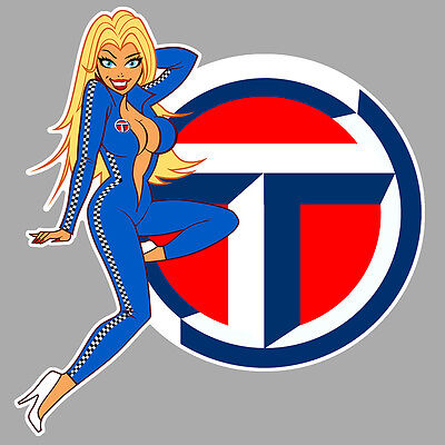 TALBOT right Pin Up droite Sticker