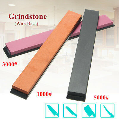 5000/3000/1000 Fine Grit Sharpening Water Stone Dual Knife Whetstone Sharpener