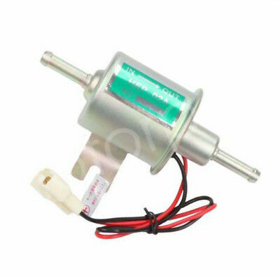 Universal 12V Inline Electric Petrol Diesel Gas Fuel Pump Replaces HEP-02 HFP02A