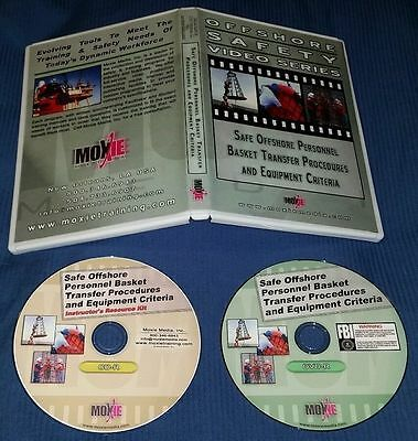 Offshore Safety Training CD rom + DVD Basket Transfer