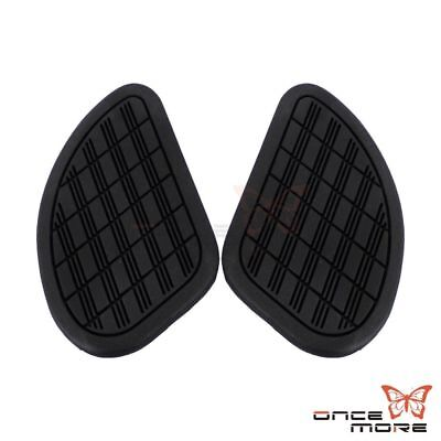 Universal British Cafe Racer Tank Traction Pad Side Gas Knee Grip Pad Protector
