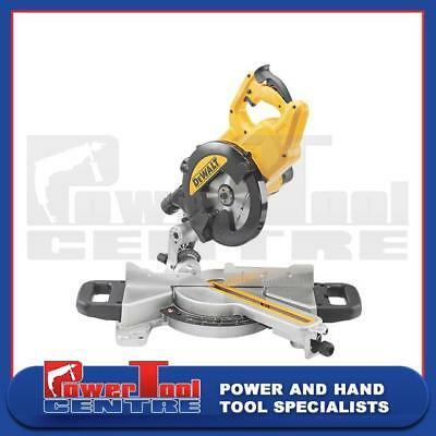 DeWalt Reconditioned DWS773 XPS 240v Volt Sliding 216mm Mitre Crosscut Chop Saw