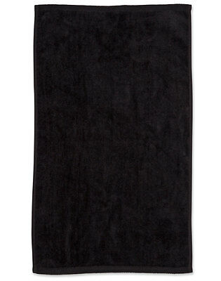 Tw01 Golf Towel With Hook Sport Gym Tour Towels - Black