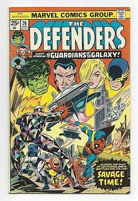 The Defenders #26, 27, 28 1st appearance Starhawk Guardians of the Galaxy Marvel