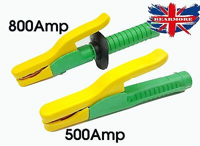 500A - 800A Electric Electrode Holder Capacity Heat Resistant Copper Welding @UK