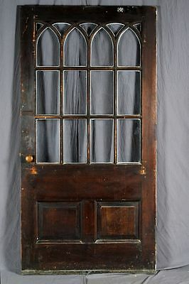 """Vintage Wide Exterior Door w/ Arched Muntins - 41.75"""" w x 82.75"""" t (2 avail)"""