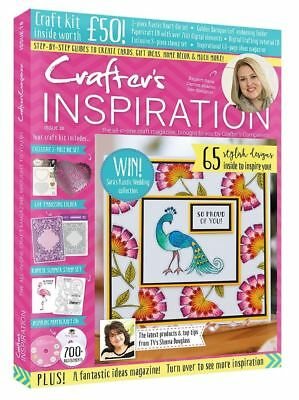 Crafters Companion - Crafters Inspiration Magazine - Issue 18 -With Free £50 Kit