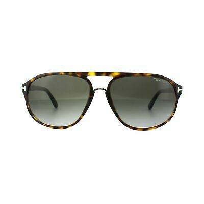 cf31f94223 TOM FORD SUNGLASSES 0513 Morgan 05B Black Havana Grey Gradient ...