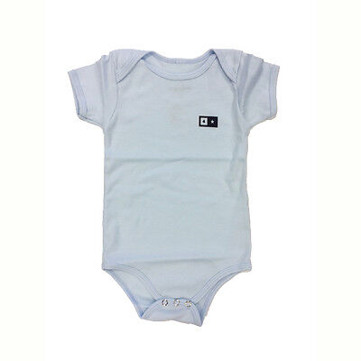 Fourstar Skateboards Bar Baby Vest One piece baby blue