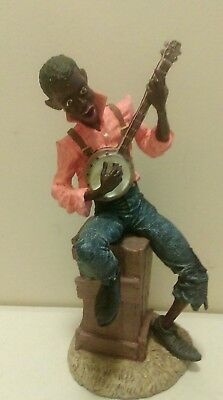 1990 Duncan Royale The Early Americans Ebony Series Banjo Man