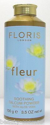 Floris London Fleur 100 g Soothing Talcum Powder