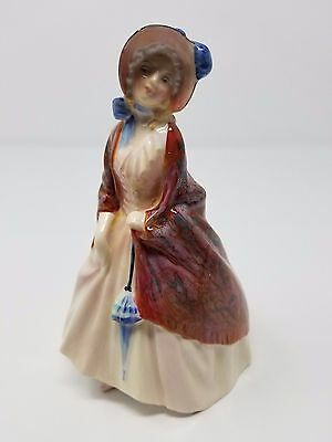 "Vintage Royal Doulton Figurine ""Paisley Shawl""  HN 1988 Hand-numbered MINT"