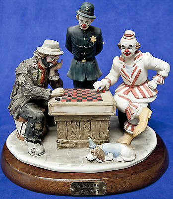 Emmett Kelly Jr Limited Edition 'fair Game' - Signed