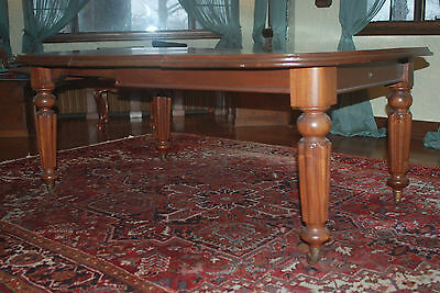 Antique American Walnut Dining Table