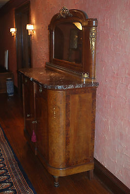 Antique French Inlaid Sideboard/Server