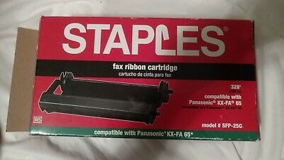 Staples Panasonic KX-FA 65 Fax Ribbon Cartridge