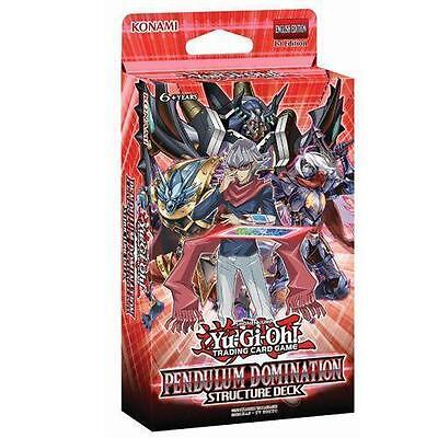 Yugioh Pendulum Domination Factory Sealed Structure Deck