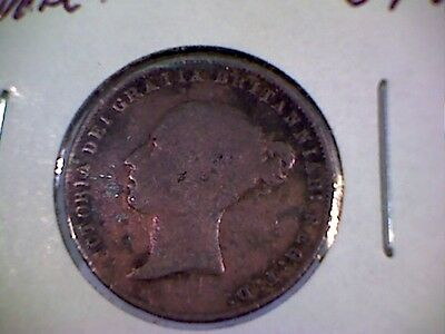 1868    6 Pence Great Britian Rare Coin