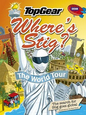 Where's Stig: The World Tour (TopGear) by Rod Hunt | Hardcover Book | 9781849900
