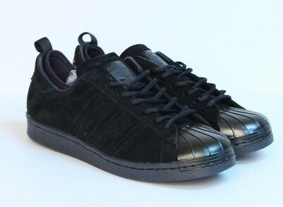los angeles 5c9d4 b028a Adidas Superstar 80s Black Pink Eddie Huang World Kitchen Metal Shell Toe  F37748