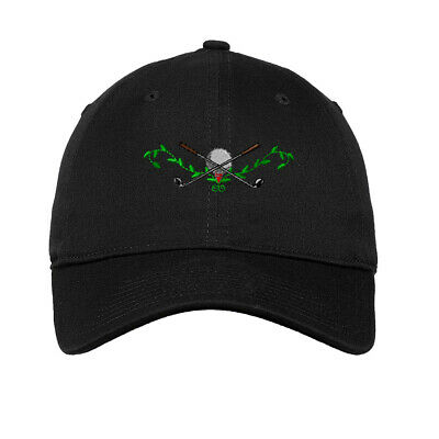 Golf Crest Embroidered Soft Low Profile Hat