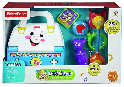 Laugh and Learn Sing-a-Song Medical Kit NIB Fisher Price
