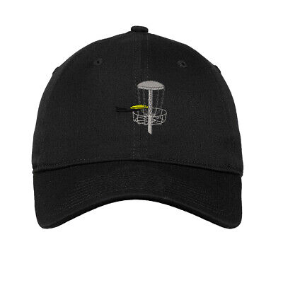 Disc Golf Embroidered Soft Low Profile Hat