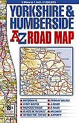 Yorkshire & Humberside Road Map (A-Z Road Maps & Atlases), Good Condition Book,
