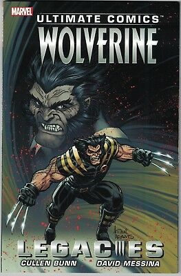 ULTIMATE COMICS WOLVERINE LEGACIES TP TPB $14.99 srp Cullen Bunn Messina NEW