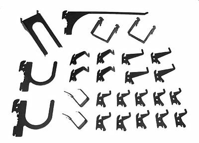 Wall Hooks Control KT-200-DLX Slotted Storage Panel Deluxe Hook Assortment