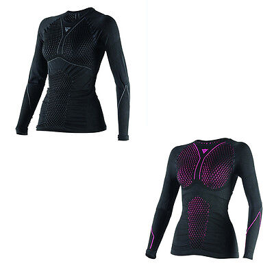 Dainese D-Core Thermo LS Motorcycle Ladies Tee Base Layer All Colours & Sizes