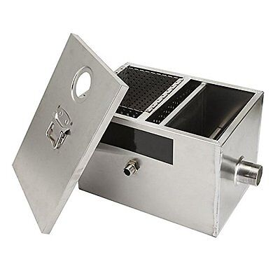 BEAMNOVA Grease Traps Commercial 8LB Grease Trap For Restaurants 5GPM Gallons