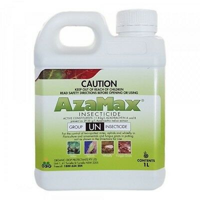 AzaMax - Certified Organic natural insecticide made from Azadirachtin