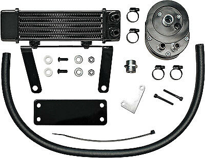 Jagg Lowmount Oil Cooler System (Black) Part# 750-1290 New