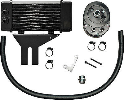 Jagg Lowmount 10-Row Oil Cooler System (Chrome) Part# 750-2580 New